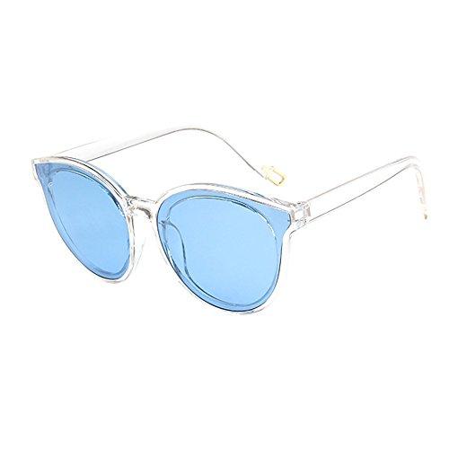 GKOKOD Herren Damen Sonnenbrille, Polarisierte Sonnenbrille Retro Groß Rahmen Vintage Rapper Sonnenbrille Brillen Sunglasses (Mehrfarbig#A)