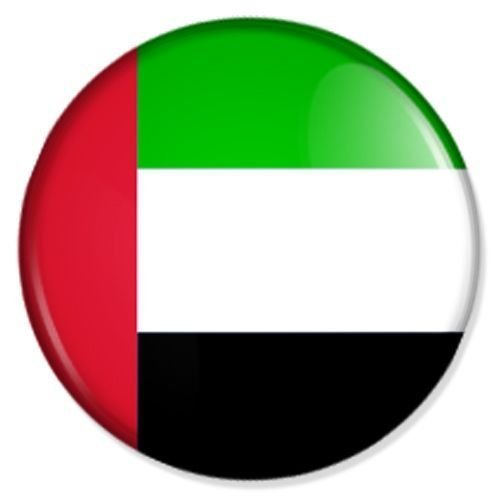 Preisvergleich Produktbild Flagge Vereinigte Arabisch Kühlschrankmagnet Magnet Magneten Pinnwand Magnet Pinnwand
