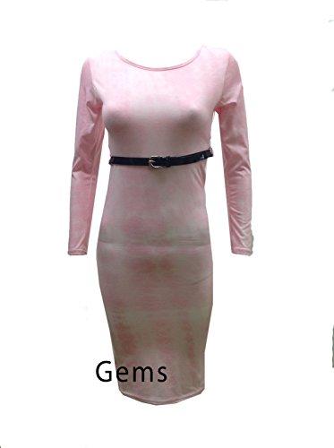 Generic Damen Kleid - Pink Tie Dye