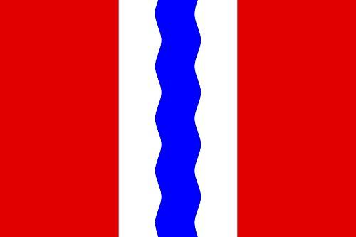 Preisvergleich Produktbild Flagge OblastOmsk | Querformat Fahne | 0.06qm | 20x30cm für Diplomat-Flags Autofahnen