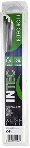 Proweltek-Ine-Intek PR1014 - Caja de 20 electrodos de soldadura para acero, 1,6mm de diámetro
