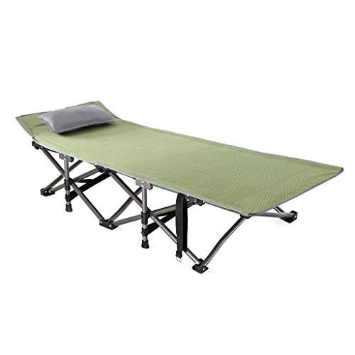 YXQ Vier Jahreszeiten Klappbett - Einzelbett Büro Nickerchen Bett Begleitbett, Last 350 Kg, Camp...