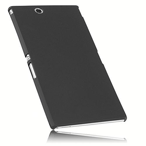 mumbi Schutzhülle für Sony Xperia Z Ultra Hülle (harte Rückseite) matt schwarz