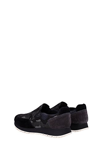 3S5947NERO Prada Sneakers Femme Tissu Vert Vert