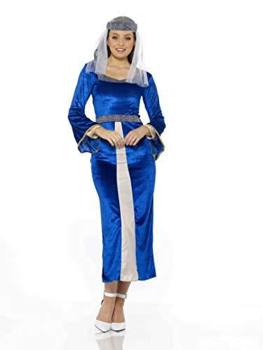 Queen Kostüm England - Karnival 81213 Kostüm Women blau L