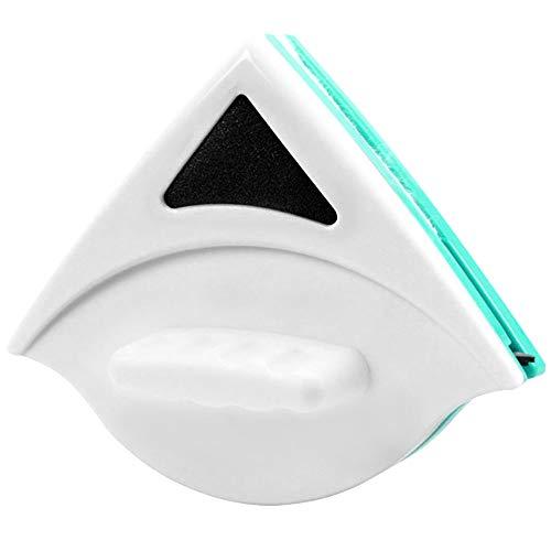 Samtlan Limpiador de Ventana magnético de Doble Cara Limpiador de Vidrio Planeador Herramienta de Cepillo de Limpieza para el Espesor de Vidrio de una Sola Capa en 5-12 mm