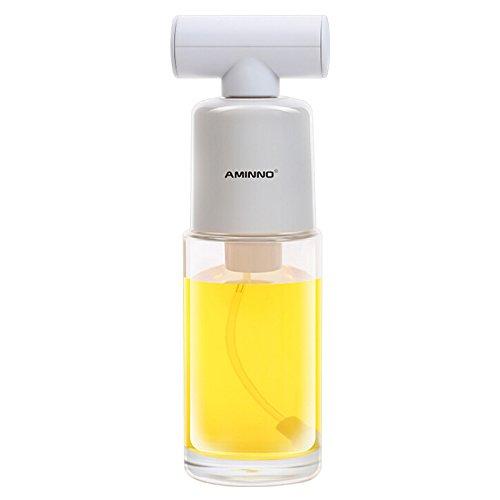 JK - Dispensador de aceite de oliva, para cocina, ensalada, pan, barbacoa, cocina, 170 ml 170 ml blanco