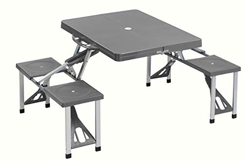 Cao 4 Camping Table - Mesa para acampada, color gris