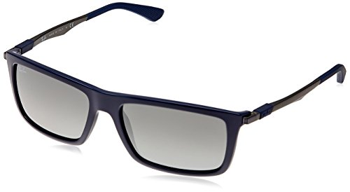 0993031a28 Ray ban rb-4214-6129-6g-59 Square Sunglasses Blue Rb 4214 61296g59- Price  in India