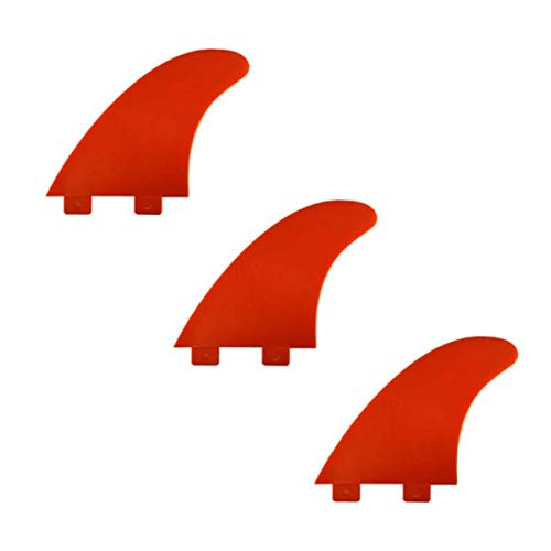 C-Model surfboard Fin. FCS compatible - Red