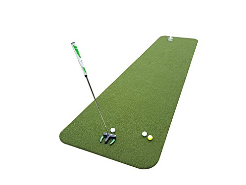 Teaching-Pro Putting Green XXL in 4m x 0,9m (Indoor Golf)