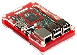 RASPBERRY PI, B+, PIBOW COUPE CASE PIM010 By PIMORONI