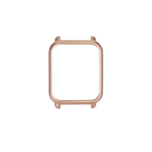 squarex Schutzhülle für Huami Amazfit Bip Younth Watch (Polycarbonat), Damen, Gold, AS Show -