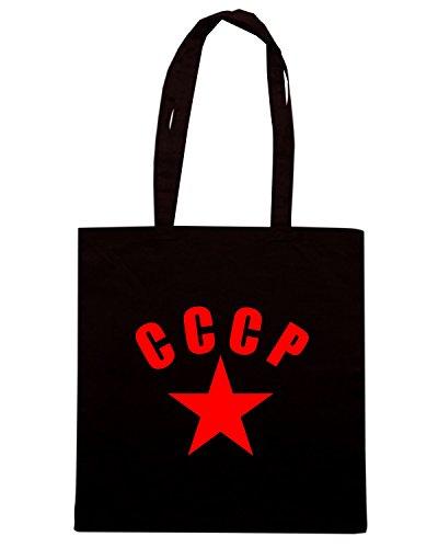 T-Shirtshock - Borsa Shopping T0045 CCCP militari Nero