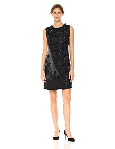 Desigual Vest_achille, Robe Femme, Noir (Black Denim 5009), 38