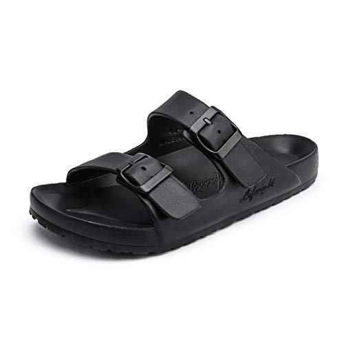 Männer Freizeit Kork Hausschuhe Sandalen magische Schnalle offen zehen flach Paar flip Flops Sommer Strand Schuhe sonnenbad im freien entspannende Wasserschuhe