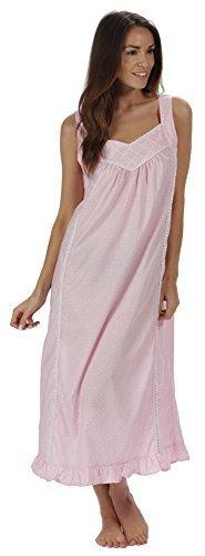 908aa62831 Vivente Vivo Ladies Long Victorian Style White Cotton Nightdress ...