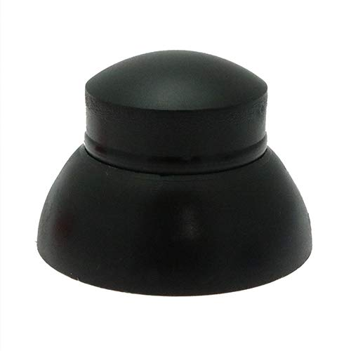 25 x M8 sécurisé Écrou Caps - Noir, écrou caches