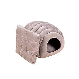 Produktparameter:   Produkt: Tiernest   Nettogewicht: 800 Gramm   Bruttogewicht: etwa 800 Gramm   Größe: ca. 38 * 33 / 14.96 * 12.99 inch   Liste:   1 x Kuschelhöhle für Katzen