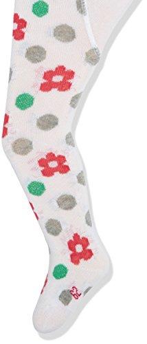 Sterntaler Baby-Mädchen Strumpfhosen Blumen, Weiß (Weiß 500), 62