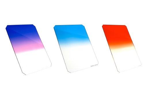 Formatt Hitech - Kit di 3 filtri graduati per alba e tramonto, 85 x 85 mm