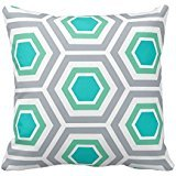 Bigdream Decorative Throw Pillowcase Cushion Case For Bed/Sofa Two Sides 18