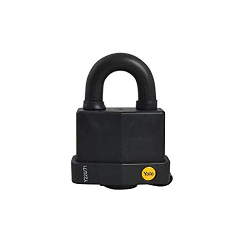 Yale Locks YALY22071 - Candado 71 mm, resistente a la intemperie