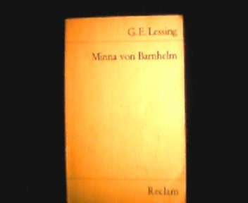 Stuttgart : Reclam, Minna von Barnhelm