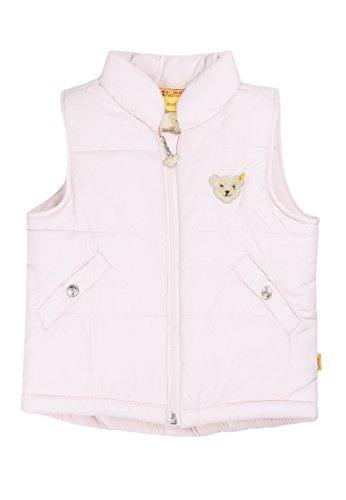 Steiff Mädchen 6827 Weste, Rosa (Barely Pink 2560), 116 - Rosa Mädchen Weste
