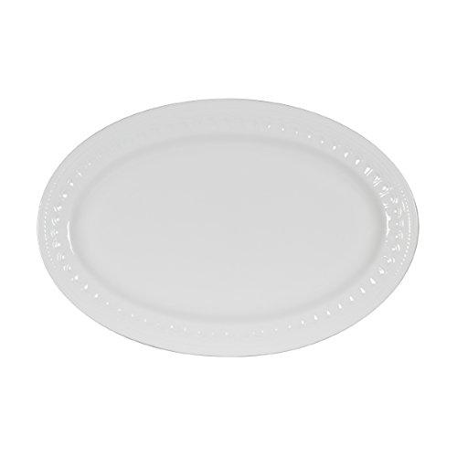 Mikasa Taylor Bone China Oval Platter, 14-Inch by Mikasa -