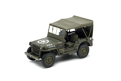 Cararama 813014 - Vehículo Militar de colección, Color Verde