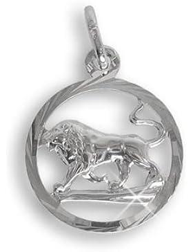 Sternzeichen Anhänger für Kinder Löwe Sterling Silber 925 (213281)