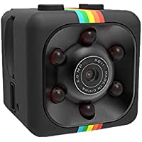 HOPQ Telecamera nascosta HD 1080p, con micro pulsante, registratore DVR