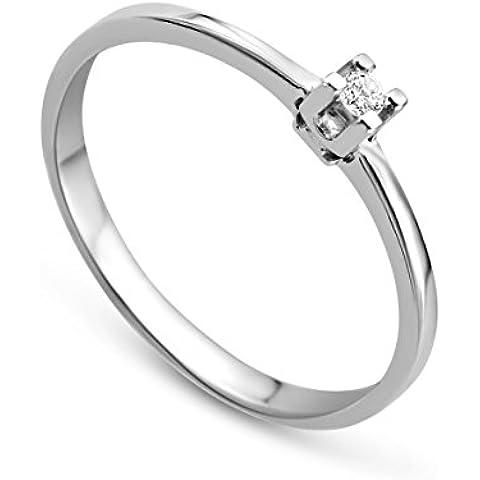 Miore MA64RWM - Anillo de mujer con diamantes