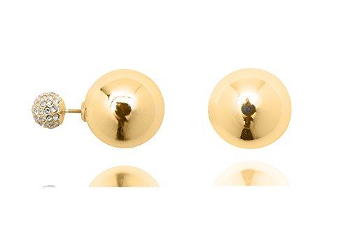 anne-klein-avant-arriere-avec-petite-boule-or-et-cristal-boucles-doreilles-percees
