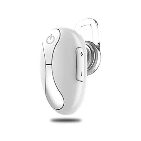Mini Headset Wireless Invisible In-Ear Bluetooth Headset Car Headphone Earbuds Earpiece Hands-free Calling for iPhone 6 7 6s Plus Samsung Xiaomi Sony Lenovo HTC LG and Most Smartphone