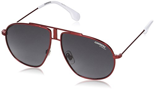 Carrera Junior Unisex-Kinder Carrerino 21 9o Sonnenbrille, Rot (MATTE RED/DARK GREY SF), 54