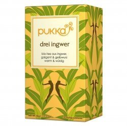 Pukka Herbs Ltd. - Three Ginger Tea 20 sachets by PUKKA HERBAL AYURVEDA