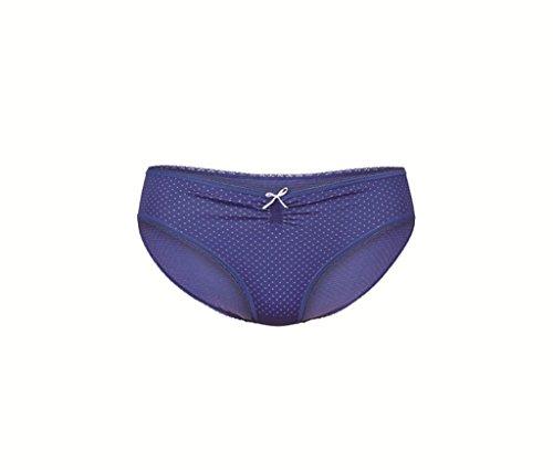 Anita Maternity Slip Seamless - Bikini - À Pois - Femme Bleu