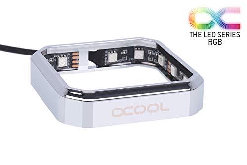 Alphacool Aurora XPX RGB Frame - Chrome Rahmen, chrom