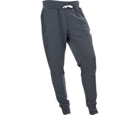 Nike sportswear, pantalone uomo, black/htr/sail, m