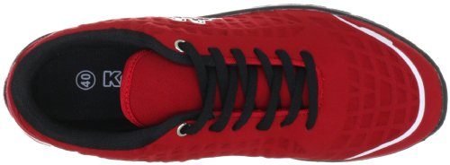 Kappa 241563, Baskets mode mixte adulte Multicolore (2011 Red/Black 2011 Red/Black)
