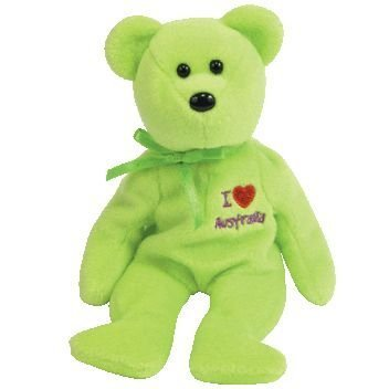 fb1b8e9a828 Ty Beanie Baby - Australia the Bear (I Love Australia - Asia-pacific  Exclusive