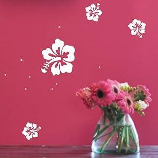 amazing sticker 24 pcs-Small set Flower Dots Children Nursery Car Window Wall Stickers/Wall Decals/Wall Transfers/Wall Tattoo/Wall Quote