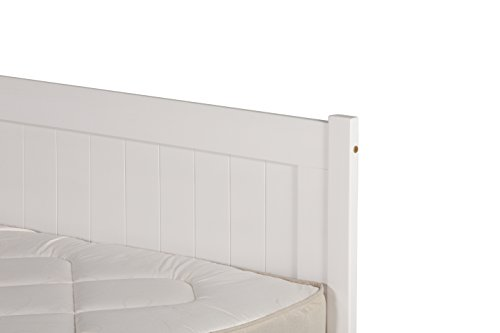 5FT KING SIZE CLIFTON BED FRAME IN SOLID WHITE PINE