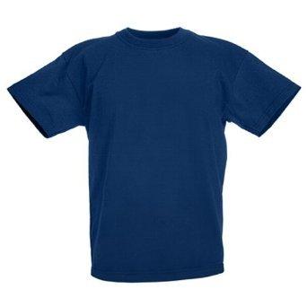 Fruit of the LoomMädchen T-Shirt Blau Navy