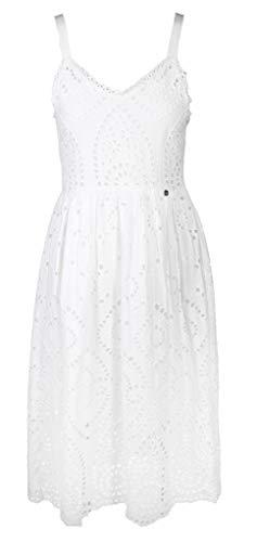 rich & royal Sommer Kleid mit Stickerei, Farbe:weiß, Größe:36 -