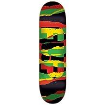 Monopatín skate skateboard FLIP Model: ODYSSEY TORN RASTA 32 X 8.13