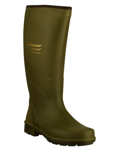 Dunlop Puro TERROIR P184833 Wellington Plain Rubber Female Casual Leather Boots