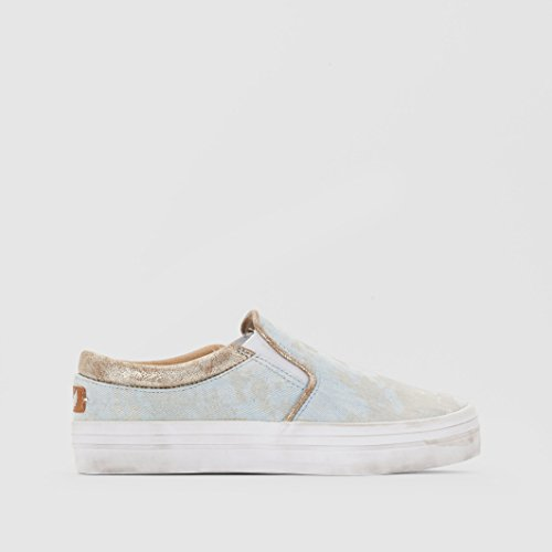 Basket Kaporal Flexy Bleu Clair Denim Bleu